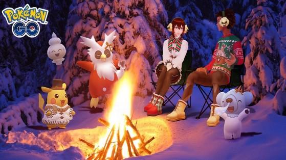 Célébration des vacances d'hiver 2020 dans Pokémon GO
