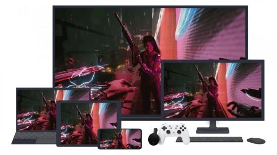 Jouable également sur ordinateur, appareil Android et téléviseur. - Cyberpunk 2077