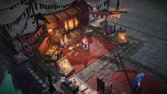 La boutique de l'identifieuse d'items - Diablo Immortal
