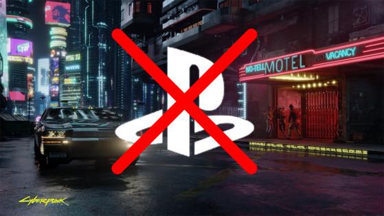 Sony retire Cyberpunk 2077 du Playstation Store jusqu'à nouvel ordre
