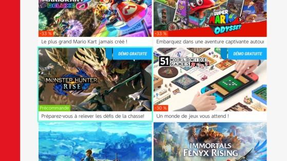 Monster Hunter Rise Nintendo eShop