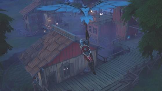 Fortnite : visiter des maisons à Slurpy Swamp en une seule partie, défi saison 5
