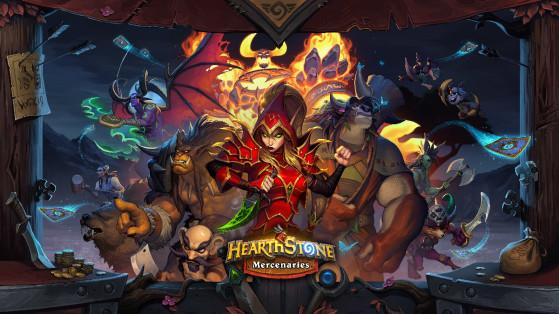Livre des Mercenaires sera le nouveau mode de jeu d'Hearthstone pour l'année du Griffon