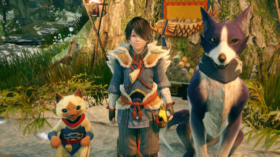Allez à la place Pilpoil pour recruter et entraîner des Felynes - Monster Hunter Rise