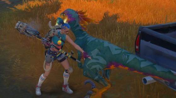 Fortnite : comment apprivoiser un raptor dinosaure dans la saison 6