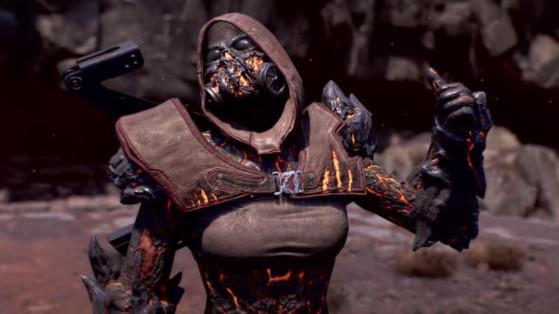 Armure Reforgée Outriders : Set légendaire du Pyromage, notre guide