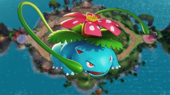 Florizarre (Venusaur) Pokémon Unite : build, attaques, objets et comment le jouer