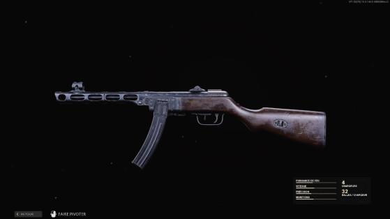 Quelle est la meilleure classe pour la PPSh-41 sur Black Ops Cold War ?