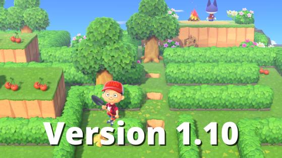 Mise à jour Animal Crossing : patch note de la version 1.10