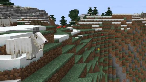 Les chèvres attaquent sur Minecraft avec la snapshot 21w18a !