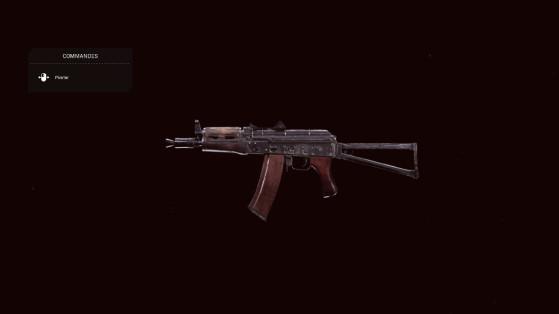 Quelle est la meilleure classe pour l'AK-74u sur Warzone ?