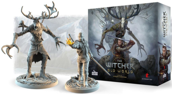 The Witcher Old World : le jeu de plateau a dépassé les 4 millions d'euros sur kickstarter