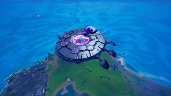 Fortnite saison 7 : soucoupe volante, où les trouver et comment les utiliser
