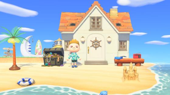 Jour de la Mer Animal Crossing New Horizons : 2 nouveaux objets exclusifs