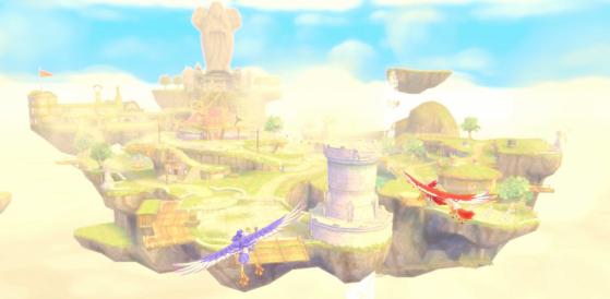 La ville colorée de Célesbourg - Zelda : Skyward Sword HD