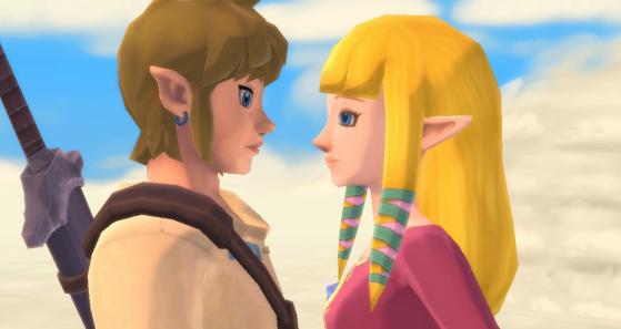 Zelda fait carrément les premiers pas dans cet opus ! - Zelda : Skyward Sword HD
