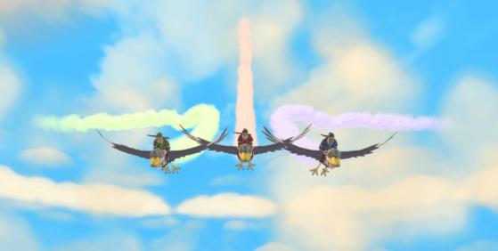 Bon 14 juillet à tous ? - Zelda : Skyward Sword HD