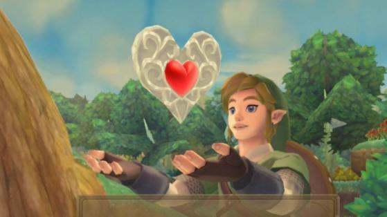 Quarts de Coeur Zelda Skyward Sword HD : où les trouver dans toutes les régions ?