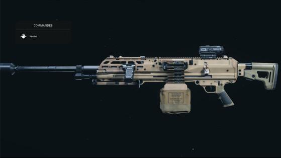 Quelle est la meilleure classe pour le RAAL MG sur Warzone ?