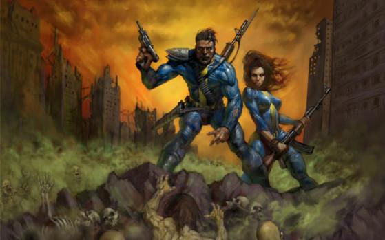 À sa création Fallout a voulu se démarquer des jeux d'héroic-fantasy de l'époque : pari réussi - Fallout 76