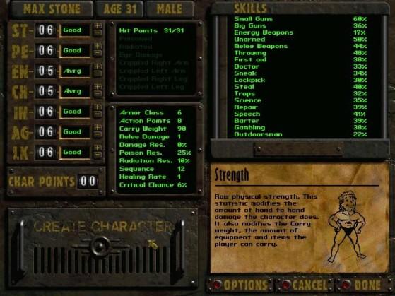 L'inimitable interface de Fallout - Fallout 76