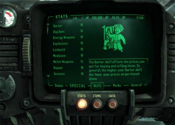 Le PIP Boy a eu le droit a un coup de polish - Fallout 76