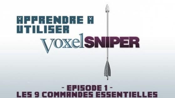 Voxel Sniper : Les commandes basiques