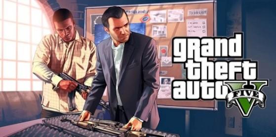 GTA V : Grand theft auto V, PS, One, PC