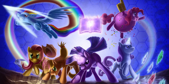 My Little Pony Fighting is Magic Test