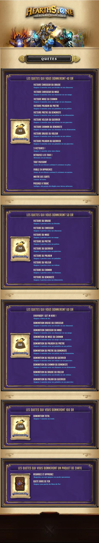 [Maj] Quète : Gagner 5 Bras de fer, récompense 50PO  Design by Teemu - Hearthstone