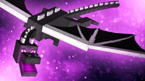 Le célèbre et redouté Ender Dragon. - Minecraft