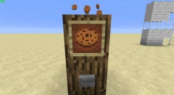 Cookie Clicker sur Minecraft