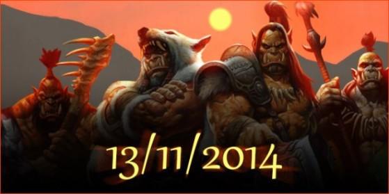 Date de sortie de Warlords of Draenor