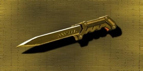 Invasion : PDW et Couteau en Or