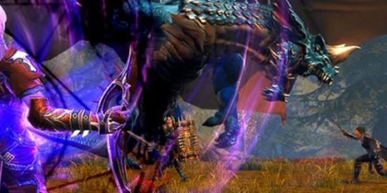 Bestiaire : les Dragons bleus