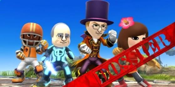 Mii : Tuto et builds, 3DS, WiiU