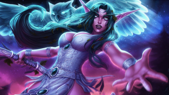 Tyrande, Support à distance