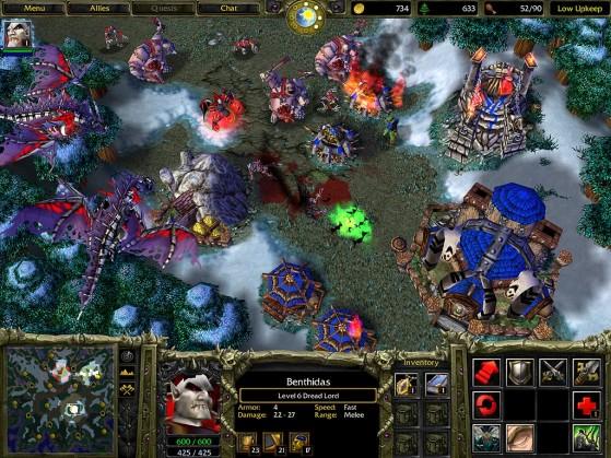 Image de WarCraft III : Reign of Chaos à sa sortie - Warcraft 3