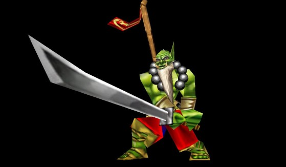 Le Maître-lame Orc, cauchemar de beaucoup de joueurs - Warcraft 3
