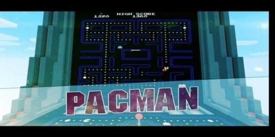 Pacman reproduit dans Minecraft