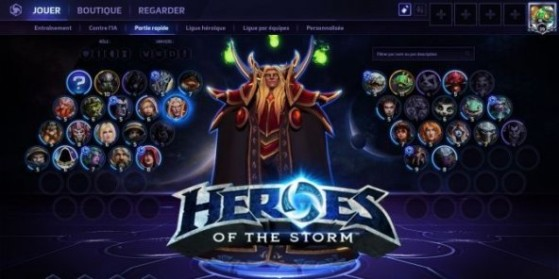 Heroes of the Storm : Interface