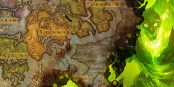 Îles brisées, zones, continent, Legion