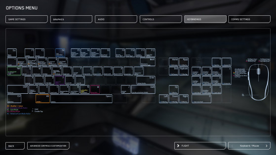 Star Citizen : Guide des commandes - Millenium
