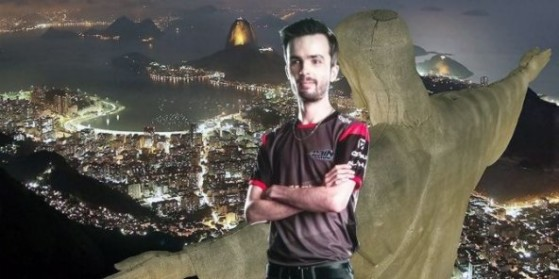 Dioud reconnu joueur pro au Brésil