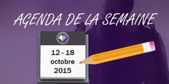 CoD AW : Agenda de la semaine - 12/10/2015