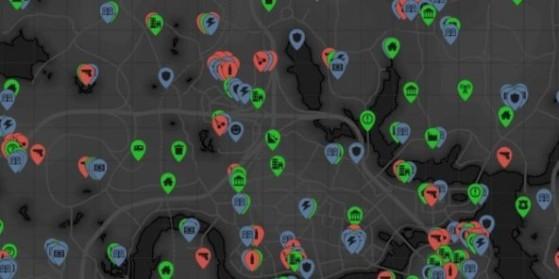 Fallout 4 : Carte complète, Map