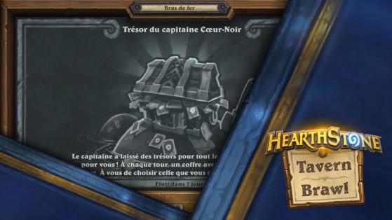 Bras de fer Hearthstone : Trésor du capitaine Cœur-Noir