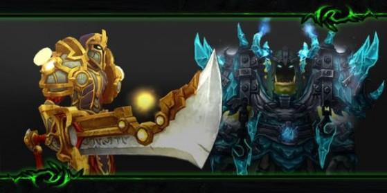 Legion : les ensembles d'équipement t19