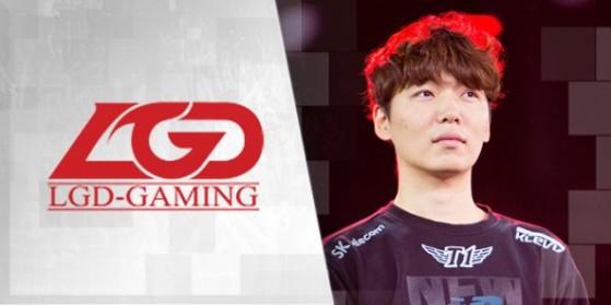 MaRin rejoint LGD Gaming Saison 6