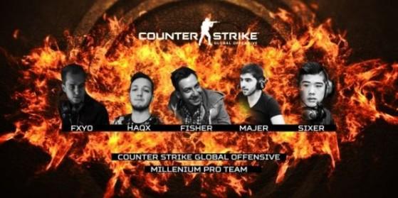 Millenium de retour sur Counter-Strike